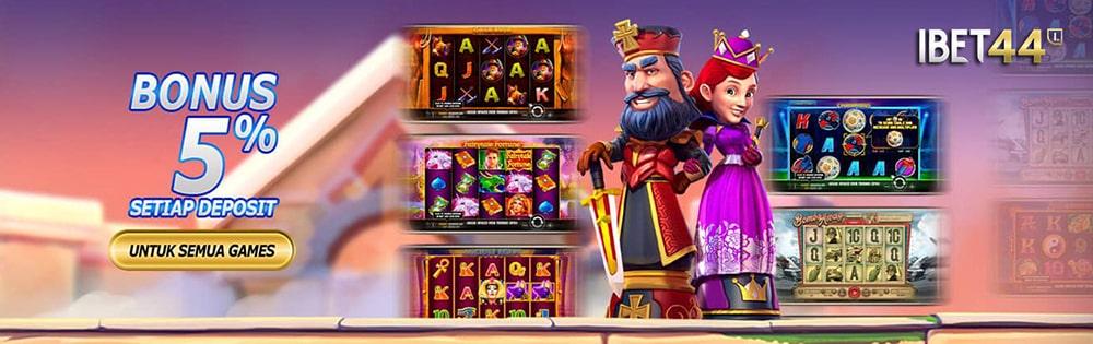 ibet44 bonus deposit semua games