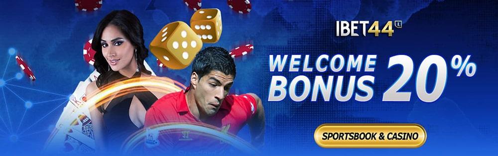 ibet44 welcome bonus sportsbook casino